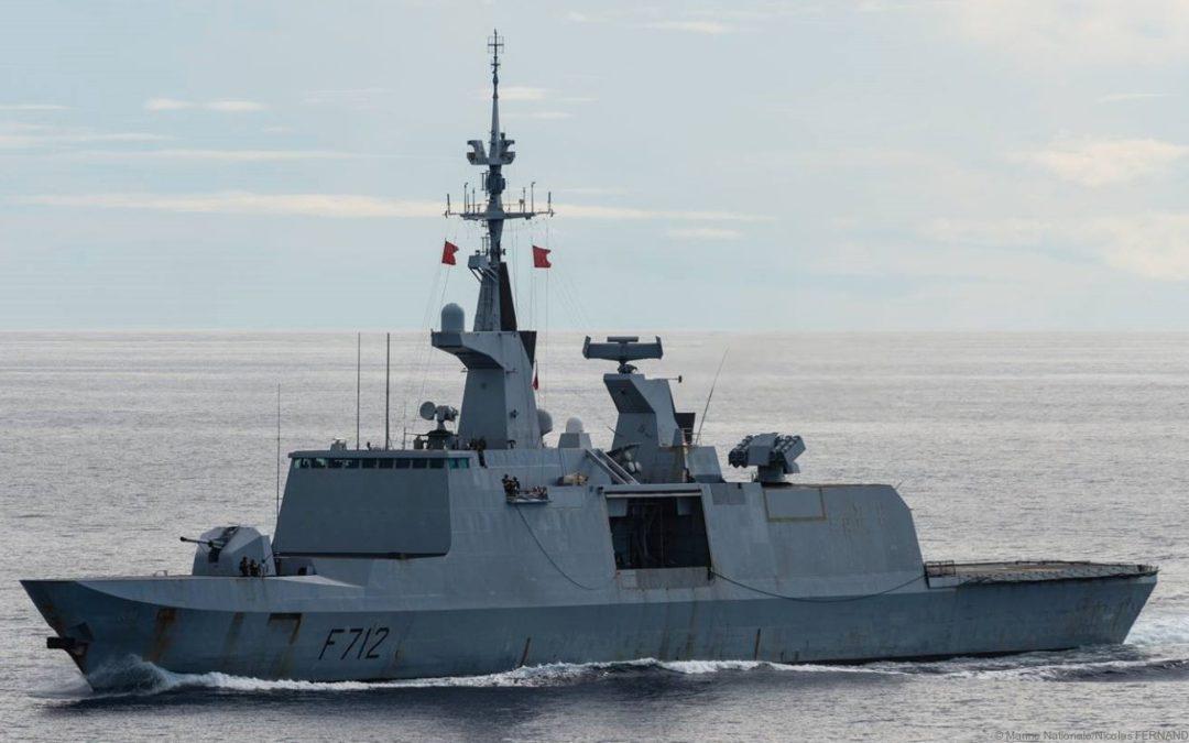 La frégate Courbet de type La Fayette bénéficiera d'une modernisation en 2021