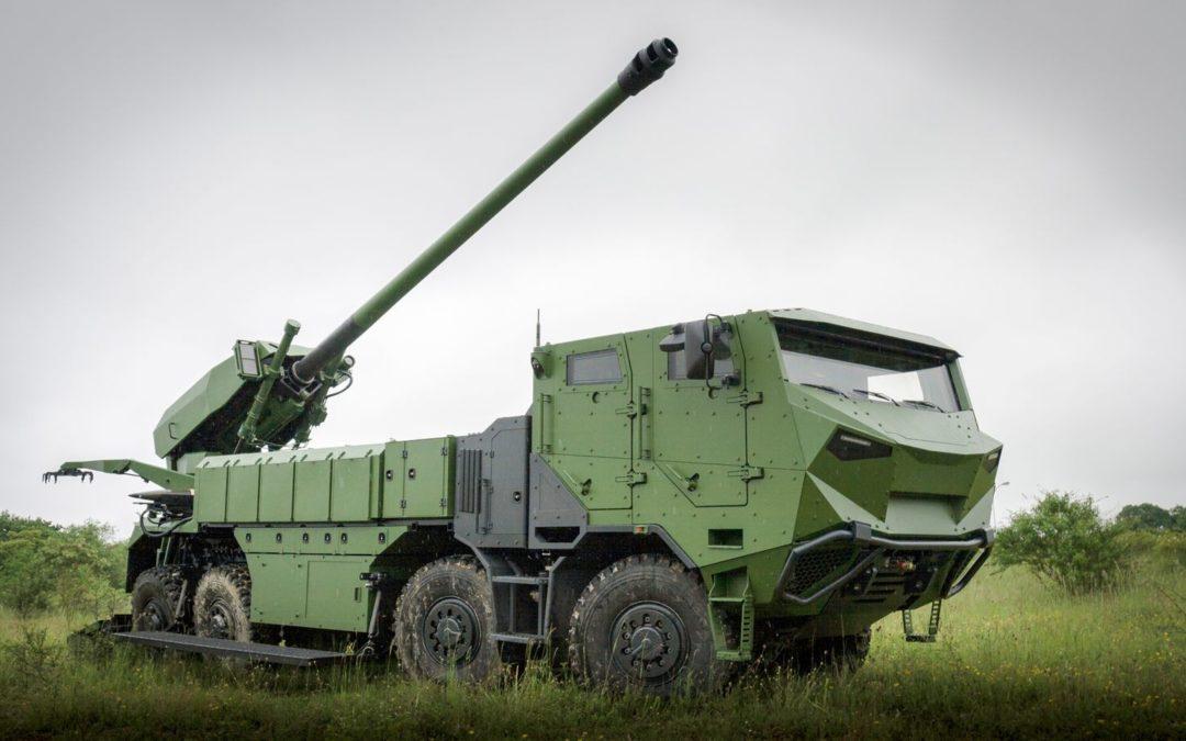 Le ministère de la défense danois confirme une commande de 4 canons d'artillerie automoteurs Caesar 8×8