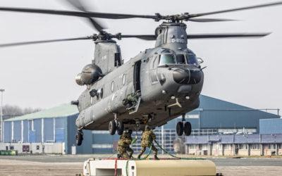 Boeing Helicopters a livré un CH-47F Chinook à la RNLAF