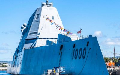 L'US Navy a officiellement réceptionné l'USS Zumwalt (DDG 1000)
