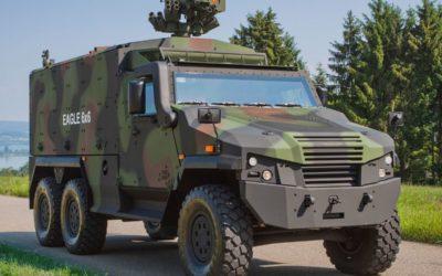 L'office fédéral Armasuisse a confirmé l'achat de 100 véhicules blindés Eagle V