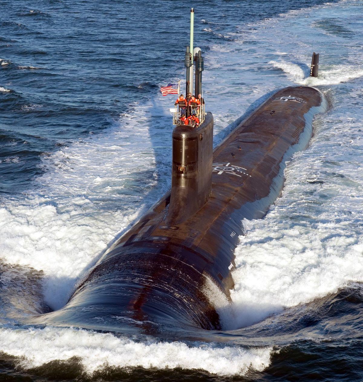 Le 4 avril dernier, la Marine américaine a mis en service l'USS Delaware SSN 791 © US Navy