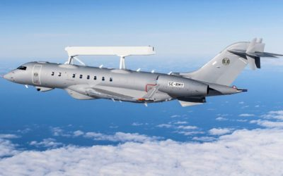 Saab a livré le premier avion d'alerte aérienne avancée GlobalEye aux Émirats Arabes Unis