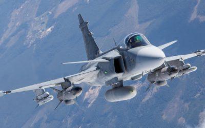 Saab a testé en vol pour la première fois son radar à balayage électronique actif (AESA) à bord d'un Gripen D