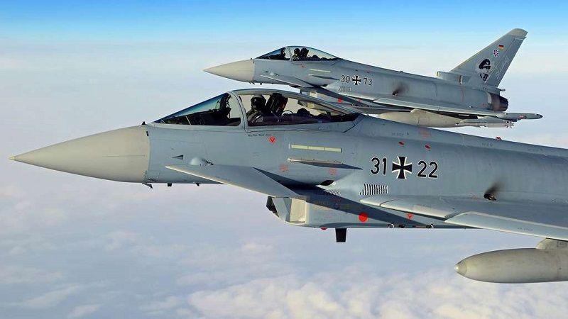 Berlin a donné son feu vert pour l'intégration du nouveau radar à antennes actives © Eurofighter