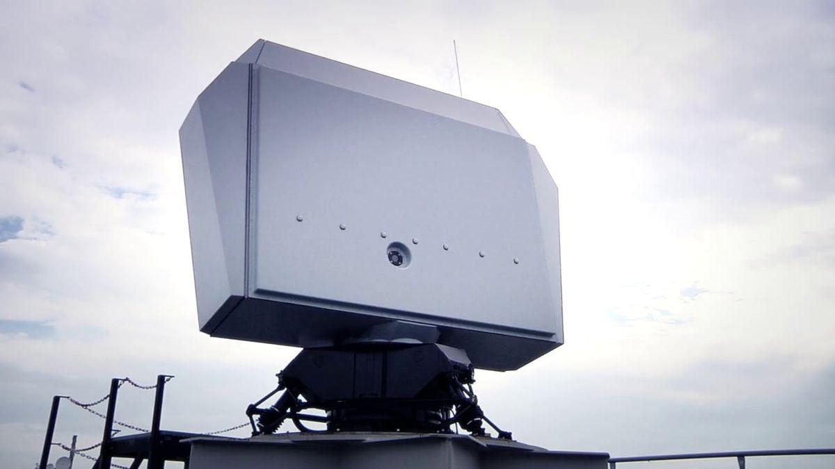 DMO et Thales ont signé un contrat portant sur la livraison d'un radar NS100, de radars Scout Mk3 et d'un système IFF © Thales
