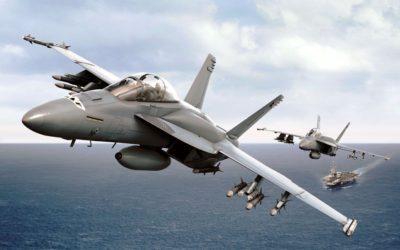 Vol inaugural du premier exemplaire de série de l'Advanced Super Hornet Block III