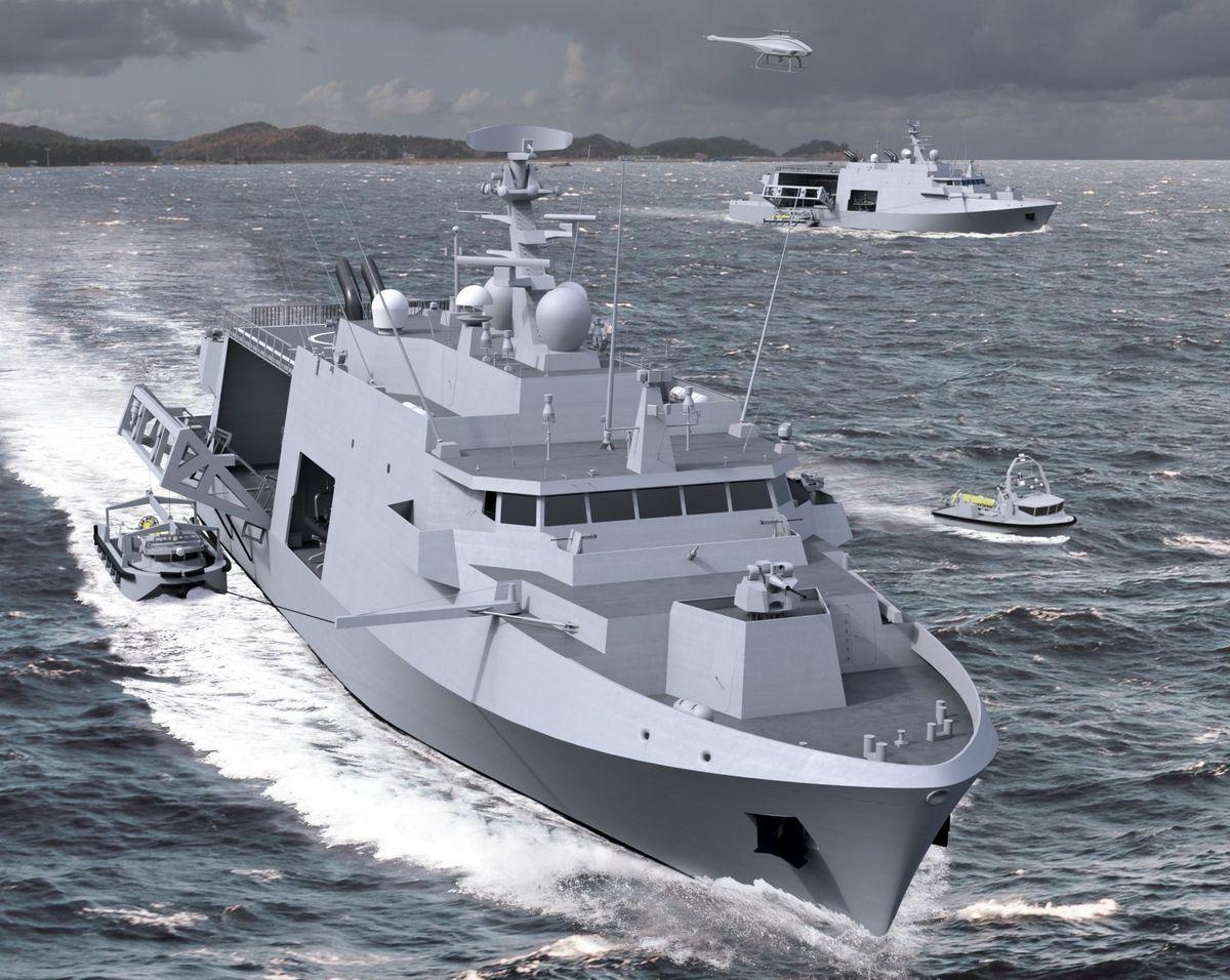 Les équipes de Belgium Naval & Robotics ont franchi un nouveau jalon dans le cadre du programme guerre des mines © Naval Group