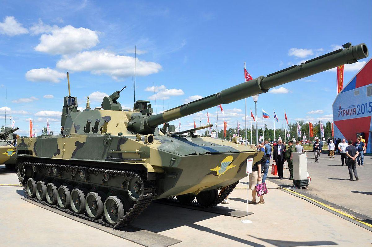 L'Inde est en négociation avec Moscou pour l'acquisition de chars légers russes 2S25M Sprut-SDM1 © DR