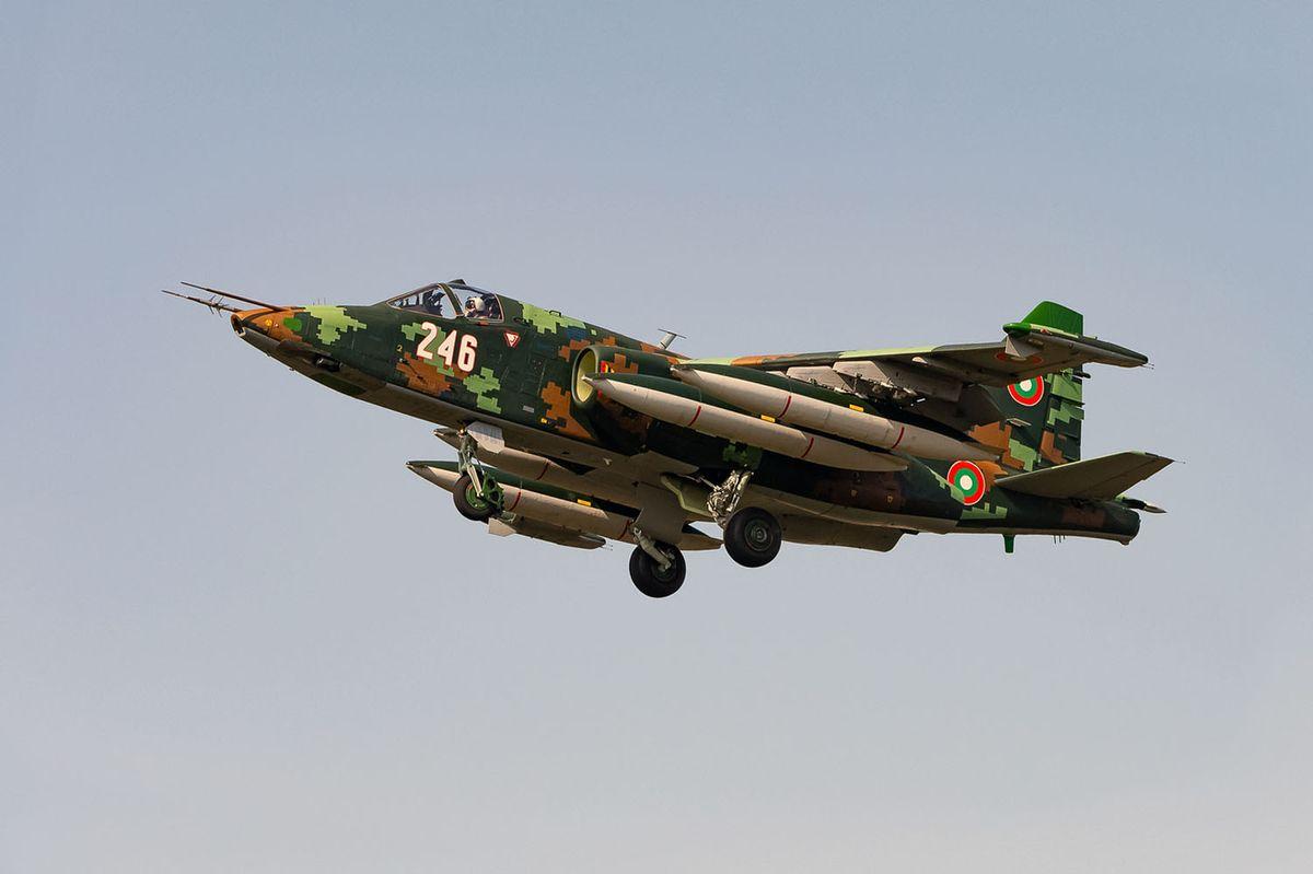 La Bulgarie réalise le programme de modernisation de ses avions d'attaque au sol Su-25 © Bulgarian Air Force
