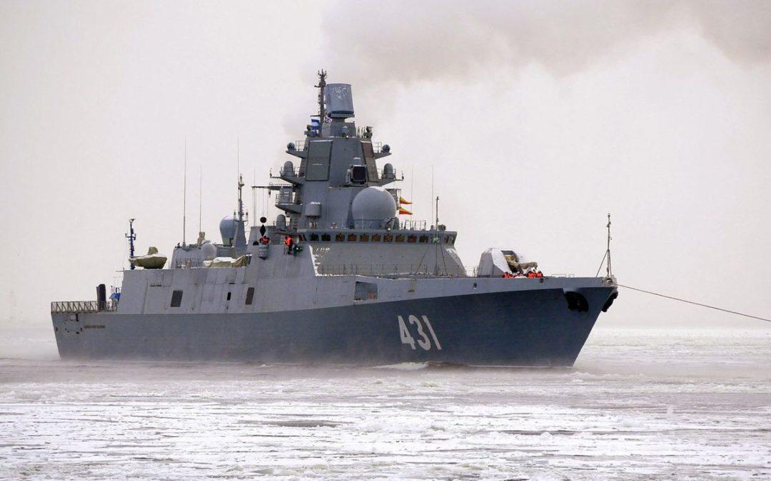 La Marine russe a reçu la nouvelle frégate Amiral Kasatonov du Projet 22350