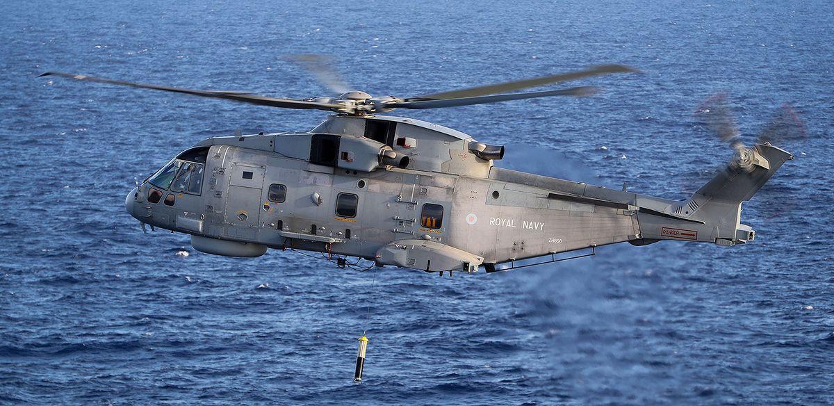 La marine polonaise a sélectionné Thales pour équiper ses hélicoptères de sonars trempés FLASH © Thales Leonardo