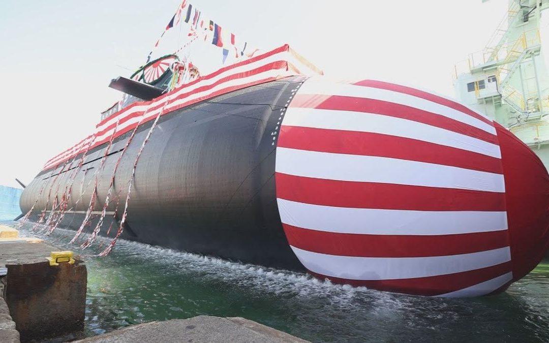 Le chantier naval Mitsubishi Heavy Industries de Kobe a effectué la mise à l'eau du sous-marin diesel-électrique Taigei