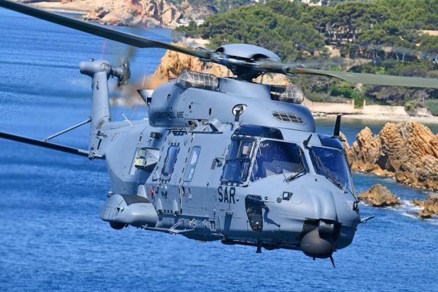 NH Industries a livré le premier hélicoptère NH90 à l'armée de l'air espagnole