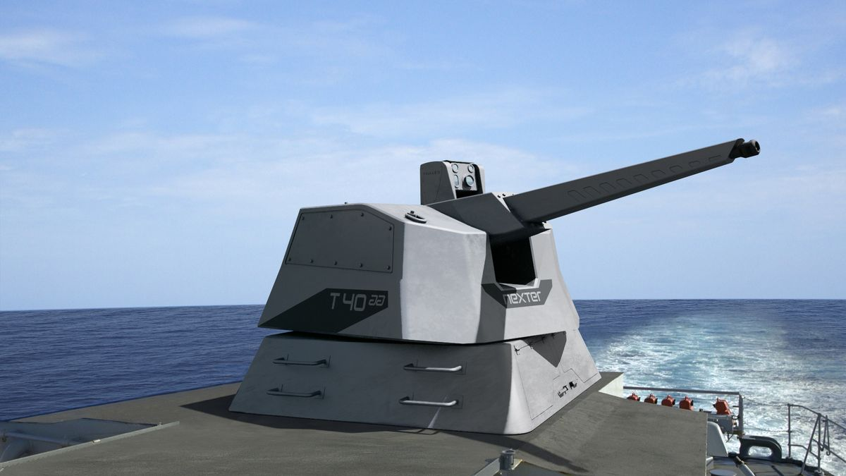 RAPIDFire du GME Thales et Nexter a été choisi par la DGA afin d'équiper les prochains bâtiments de la Marine ©Thales