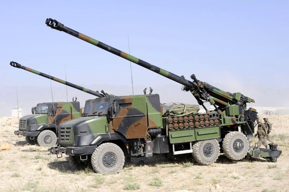 SIMMT notifie Nexter d'un nouveau marché de soutien en service © Armée de Terre