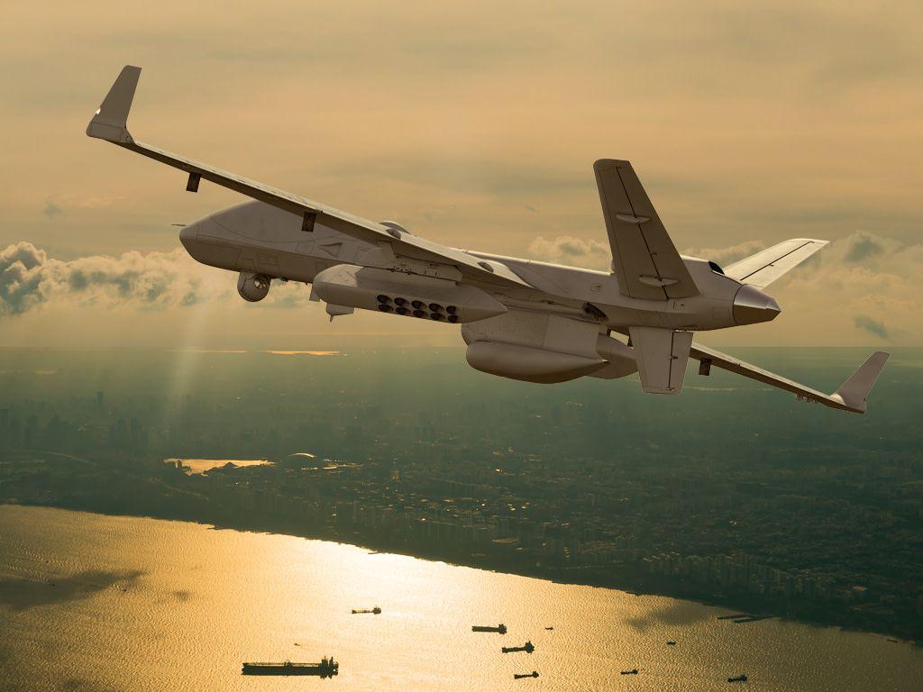 Inde drones MQ-9B SeaGuardian © General Atomic