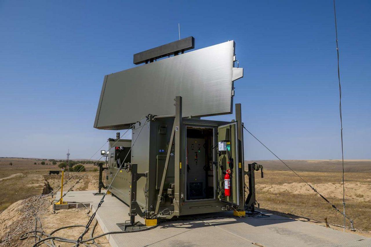 Kazakhstan radar Ground Master 400 © Thales