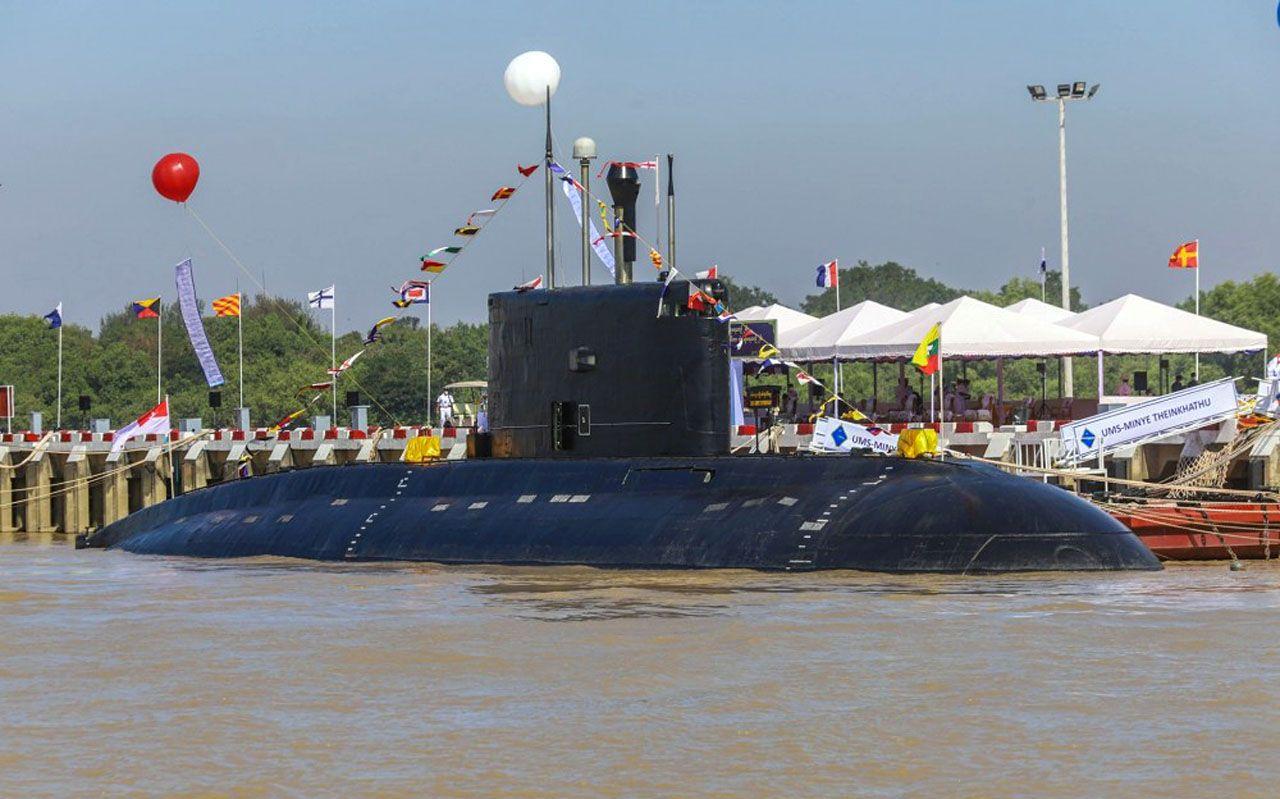 Myanmar sous-marin diesel-électrique du Projet 877EKM © Myanmar MoD