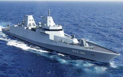 Le système de mission et de combat de Thales intégré sur quatre frégates de classe MKS 180