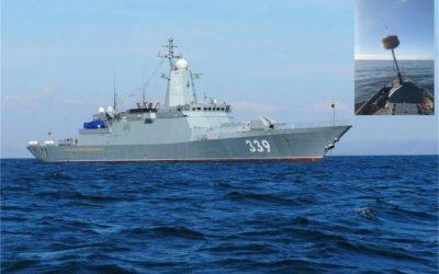 La Marine russe réalise les tests de la nouvelle corvette Aldar Tsydenjapov du Projet 20380