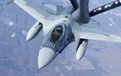 La Fortele Aeriene Romane a réceptionné son 17e et dernier F-16