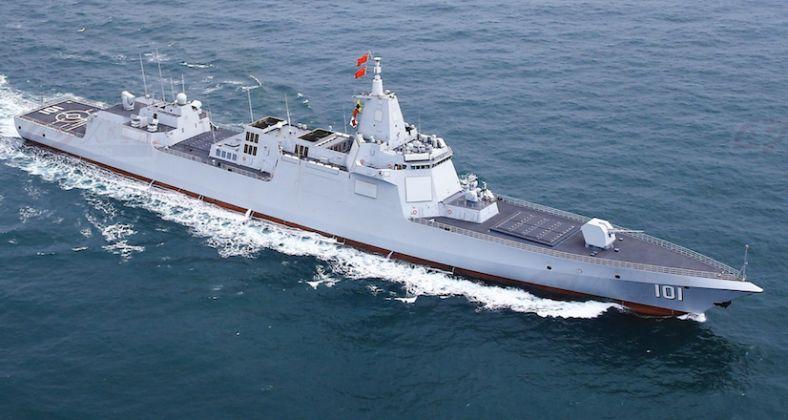 La Marine chinoise a mis en service le destroyer Dalian