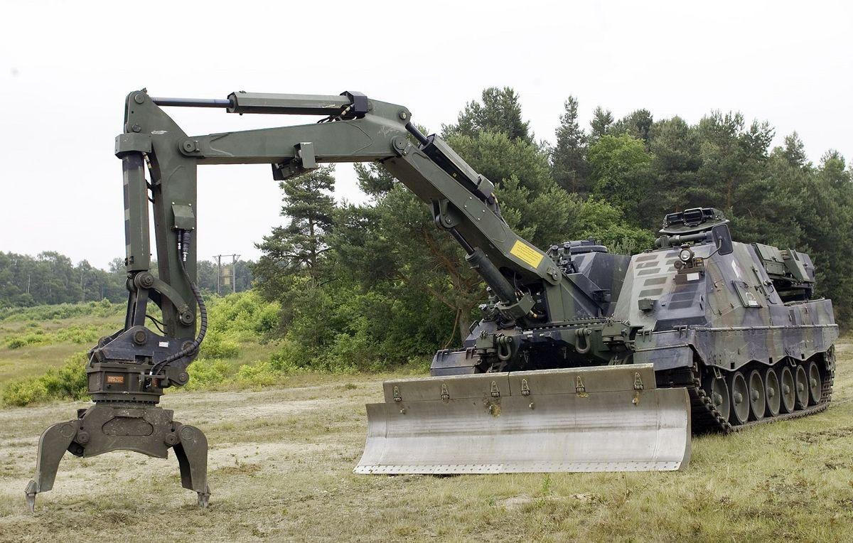 Le Bundestag a validé l'acquisition de 44 Pionierpanzer 3 Kodiak