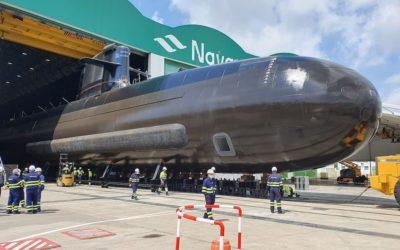 Le chantier Navantia de Carthagène a procédé au lancement du S81 Isaac Peral