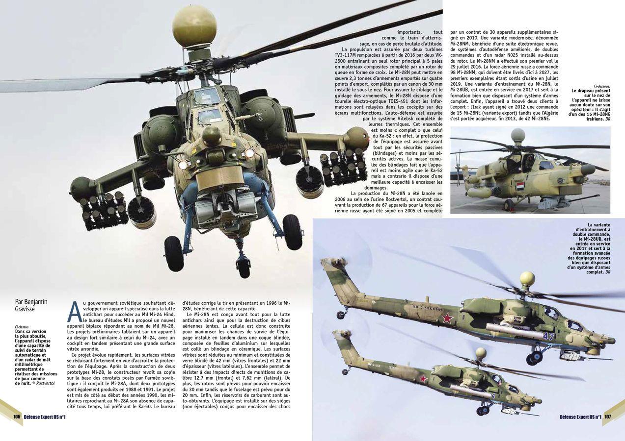 Page106 107 DEFENSE EXPERT Hors-série Mi-28