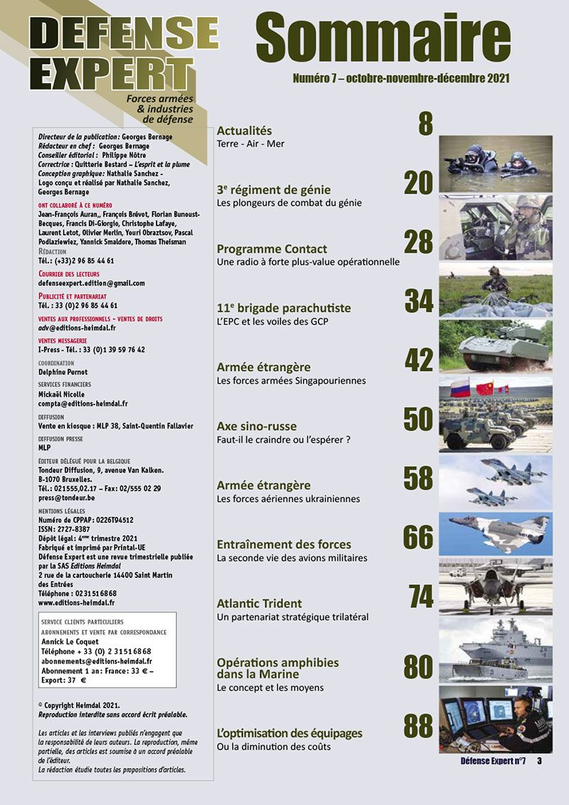 Sommaire Defense Expert 07