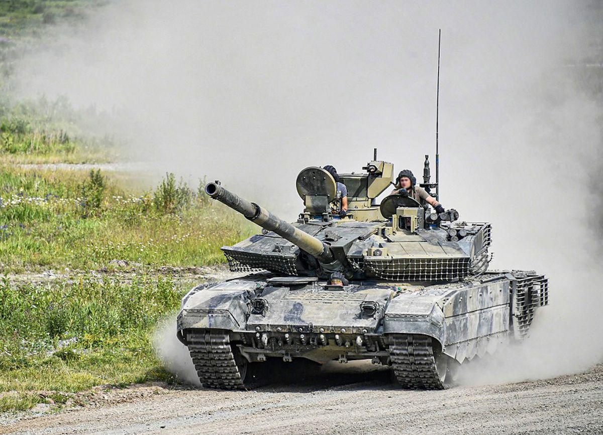 Le consortium russe Uralvagonzavod a remis aux forces armées un lot de vingt-six chars T-90M © Russian MoD