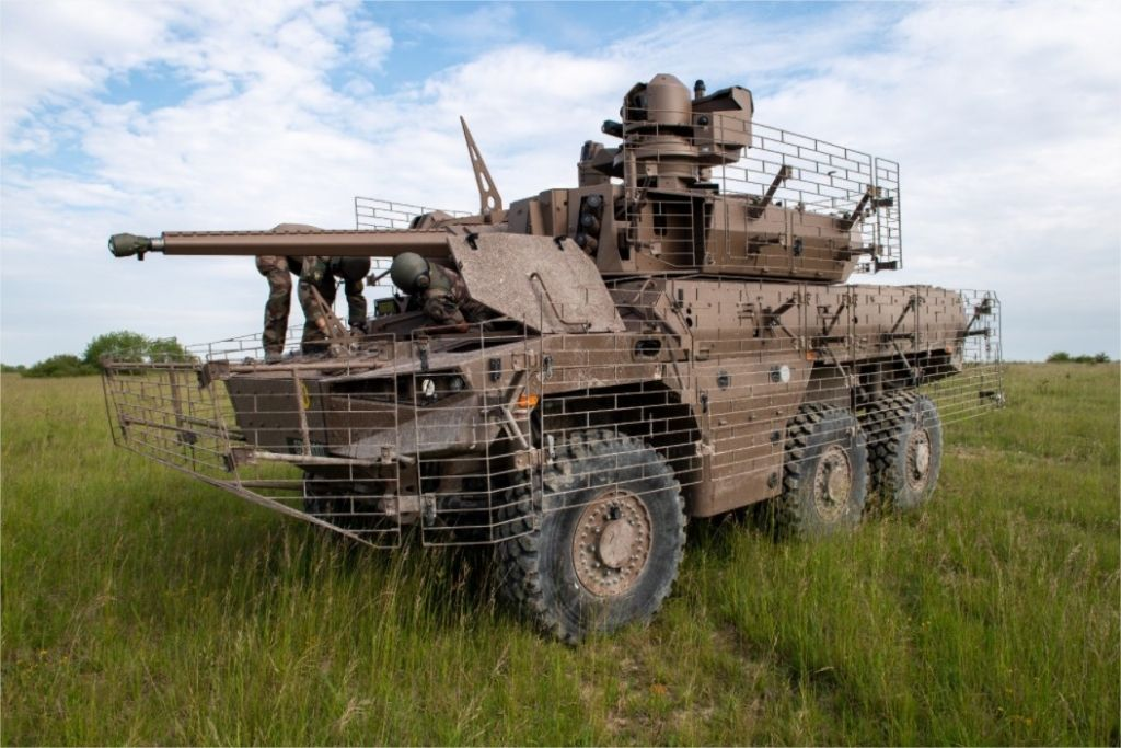 Programme Scorpion l'armée de Terre prendra livraison des premiers Jaguar d'ici la fin de l'année © Armée de Terre
